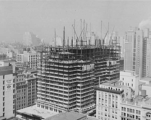 construction of tall building